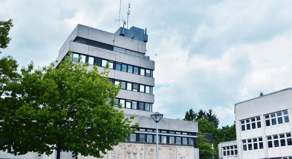Das Rathaus in Ahrensburg. Foto:Fischer