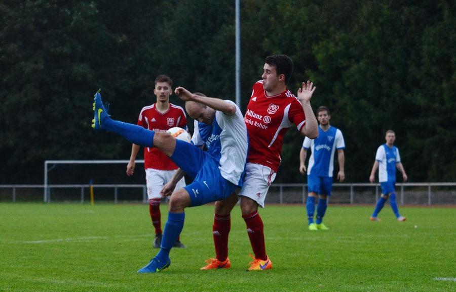 Der WSV Tangstedt im Kreisligaspiel gegen den VfL Oldesloe