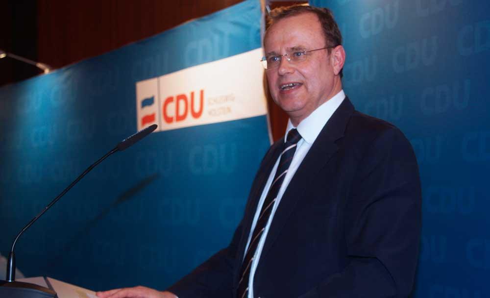 Claus Christian Claussen (CDU). Foto: Fischer