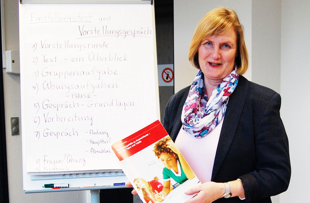Diplom-Sozialpädagogin Christine Jaacks-Mirow. Foto: hfr