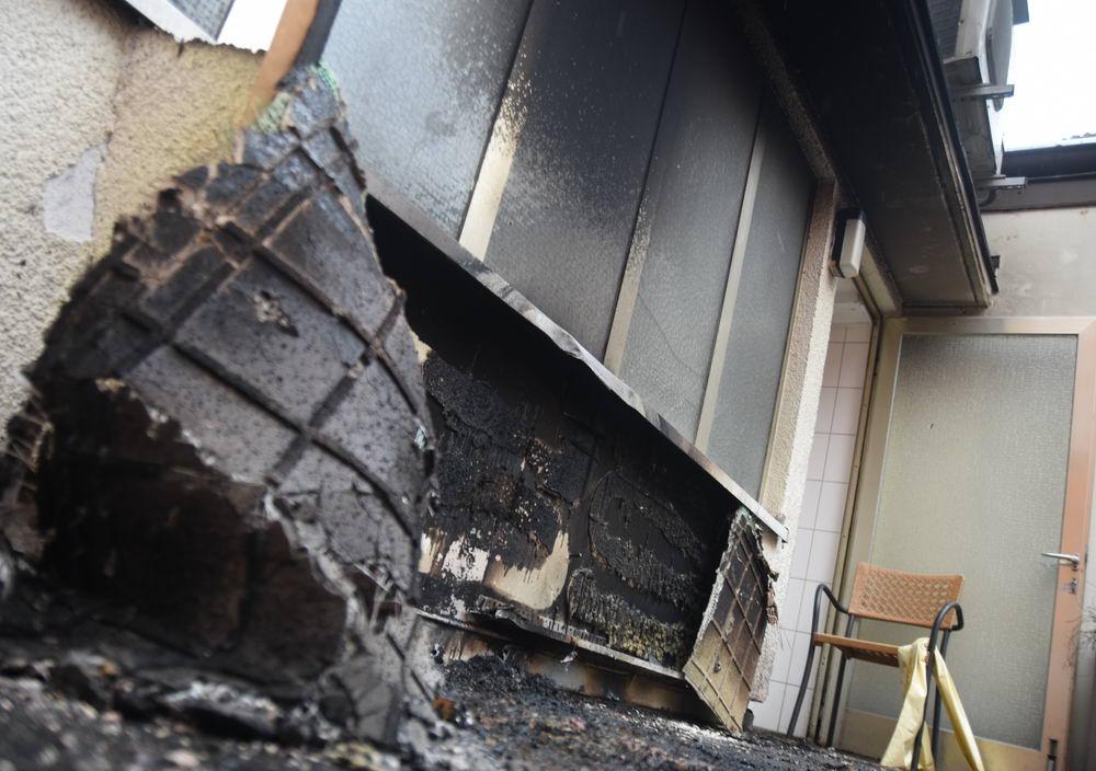 Anwohner konnten das Feuer unter Kontrolle bringen. Foto: Stormarnlive.de