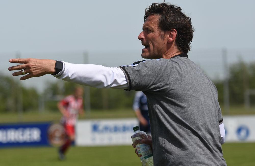 Coachte sein Team zurück in die Regionalliga: Fußballlehrer Oliver Zapel