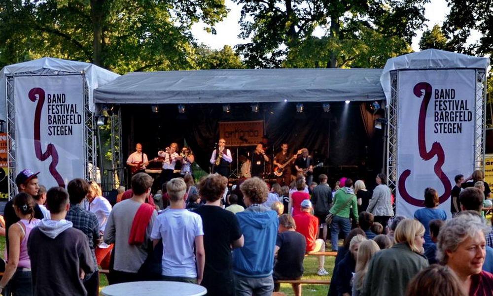 Das Bandfestival Bargfeld Stegen. Foto: SL Archiv