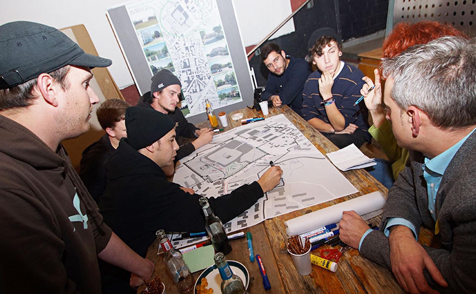 In Workshops konnten Bürger am Innenstadtkonzept mitarbeiten. Foto: Fischer