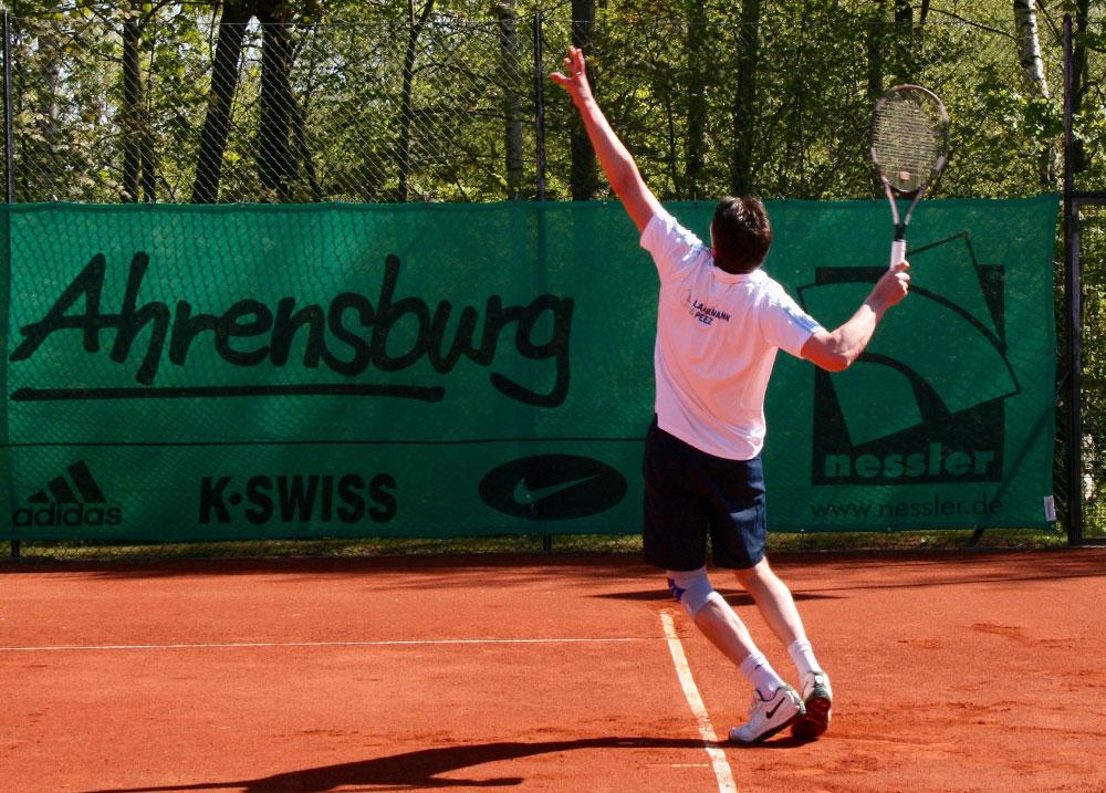 Auf der Anlage Fannyhöh wird im September zur 1. Stadtmeisterschaft aufgeschlagen. Eingeladen sind alle Tennisclubs der Stadt sowie der TC Großhansdorf. Foto:THCA/bz