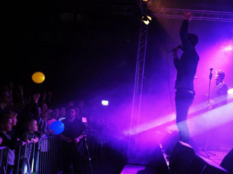 Am 23.12 präsentierten Jeden Tag Silvester bereits viele neue Songs beim Konzert in der Stormarnhalle