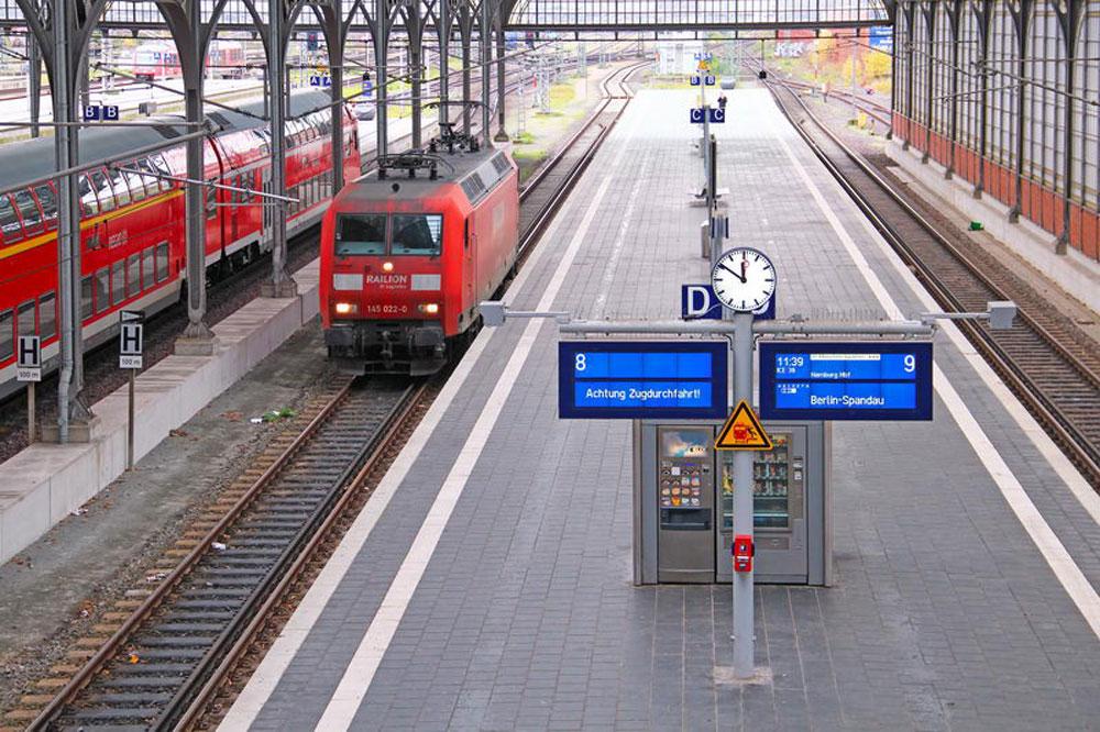 Die Lübecker Bahnhof. Foto: Shutterstock.com