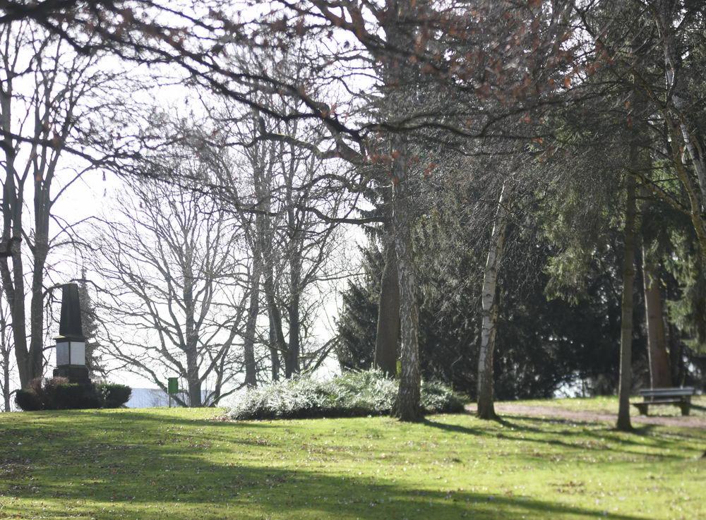 """Blick auf den """"Alten Friedhof"""" Foto: SL"""