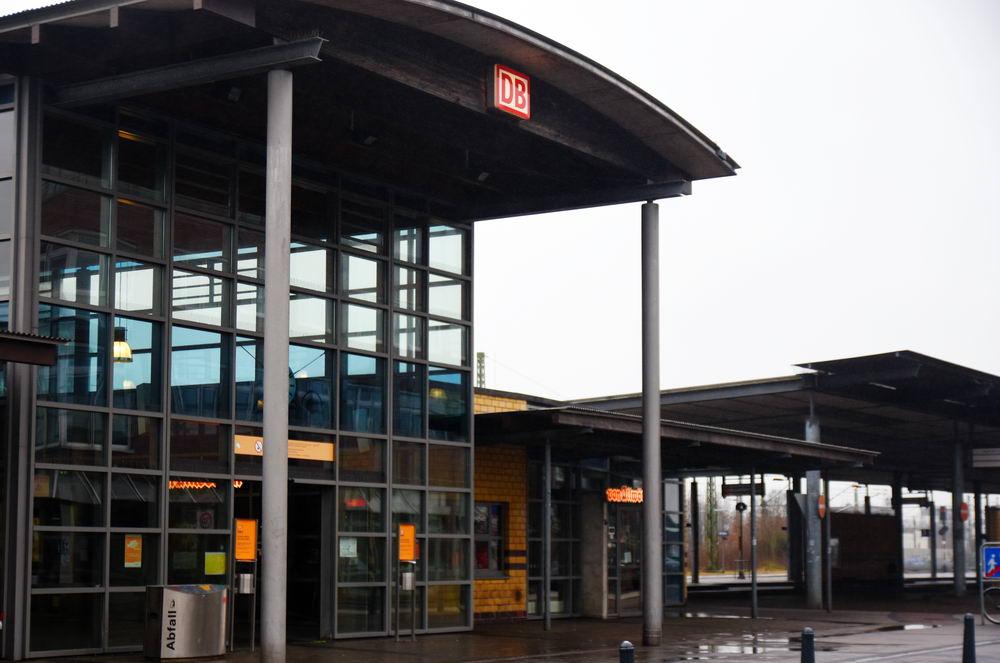 Der Oldesloer Bahnhof Foto: SL