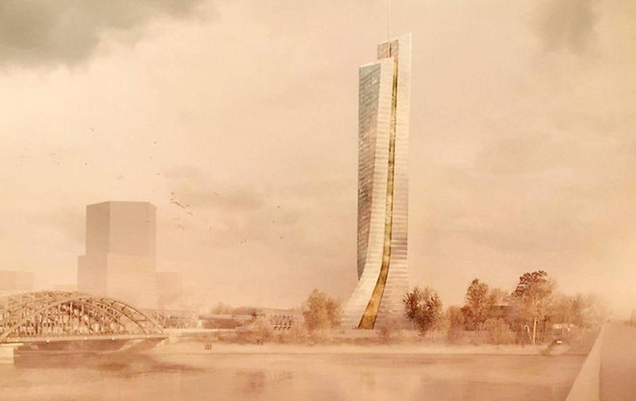 So könnte der Wolkenkratzer aussehen. Foto: Hafencity GmbH/hfr