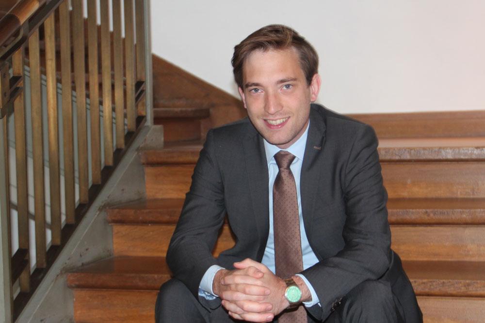 Lukas Kilian (CDU). Foto: hfr