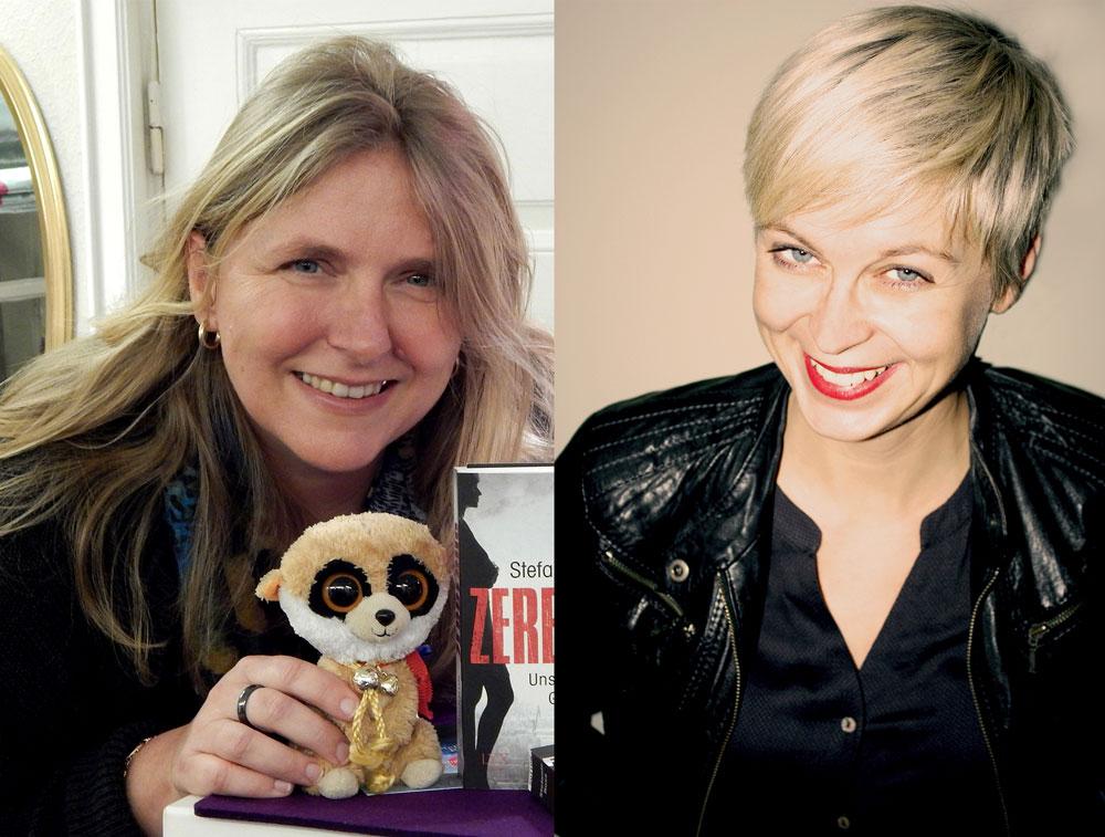 Die Autorinnen Stefanie Ross und Kristina Günak. Foto: Gitta Schwitzke