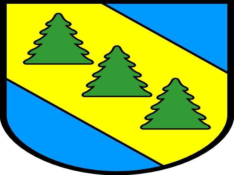 Das Wappen der Stadt Kaliska