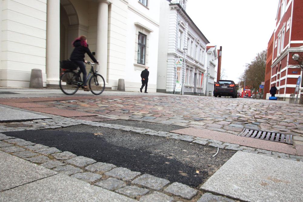 Die Hagenstraße wird ab 2018 saniert. Foto: Fischer