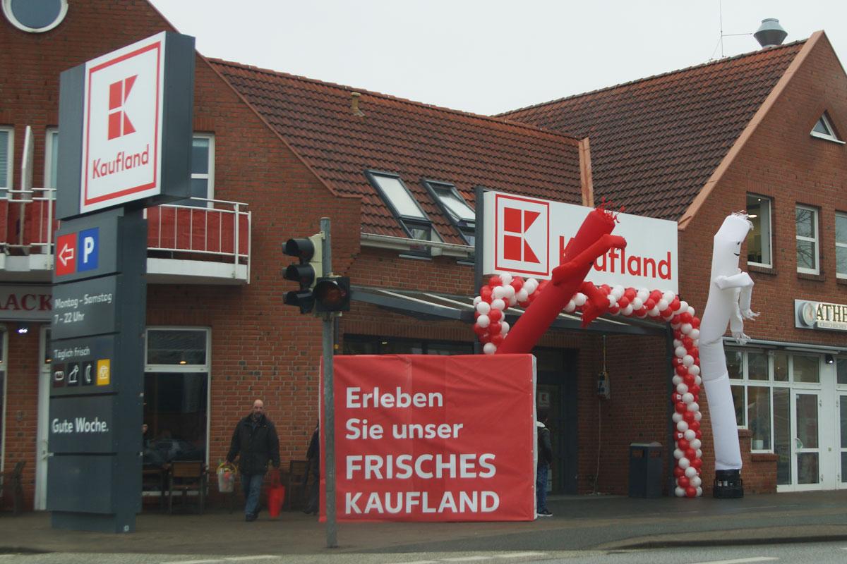 kaufland erffnung in bad oldesloe foto stormarnlivede - Kaufland Online Bewerbung